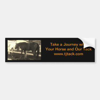 Take a Journey Tack Bumper Sticker