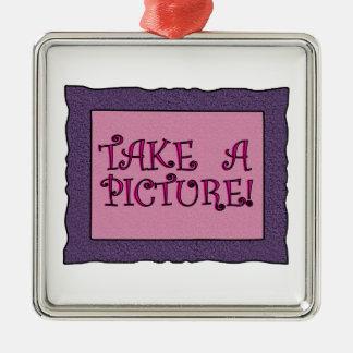 Take A Picture Ornaments