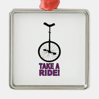 Take A Ride Ornament