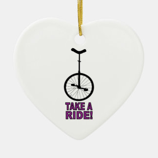 Take A Ride Ornaments