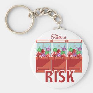 Take A Risk Key Ring