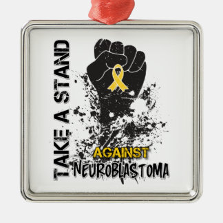 Take a Stand Against Neuroblastoma Christmas Ornaments