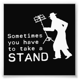 Take a Stand Photo