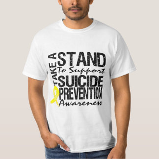 Take A Stand To Support Suicide Prevention Tee Shirts