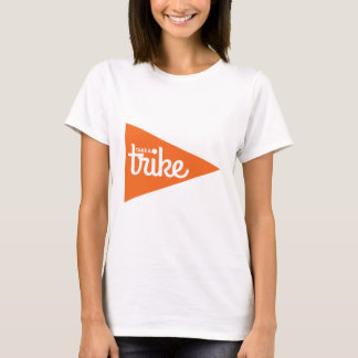 Take a Trike Flag: Recumbent Trike T-Shirt