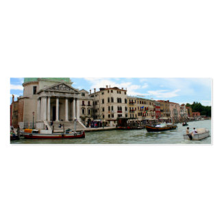 Take a trip down the Grand Canal in Venice Business Card Templates