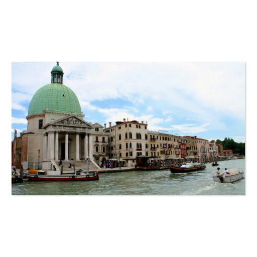 Take a trip down the Grand Canal in Venice Business Card