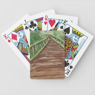 take a walk bicycle playing cards