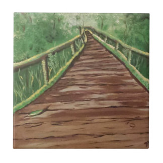 take a walk ceramic tile