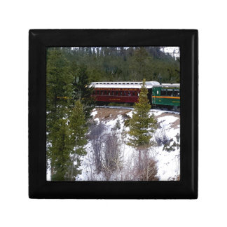 Take A Winter Ride On The Georgetown Loop Railroad Gift Box
