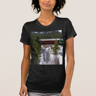Take A Winter Ride On The Georgetown Loop Railroad T-Shirt