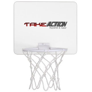 Take Action Apparel & Gear Logo Basketball Goal Mini Basketball Hoop