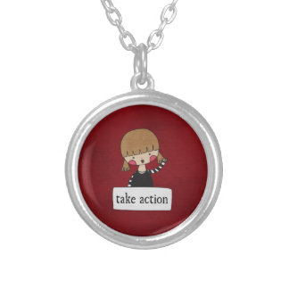 Take Action by Linda Tieu Necklace