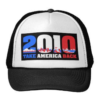 Take America Back 2010 Mesh Hats