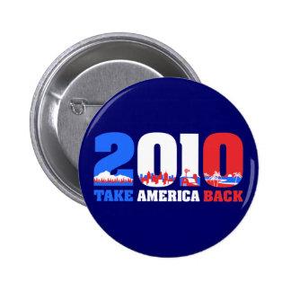 Take America Back 2010 Pins