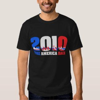 Take America Back 2010 T Shirt