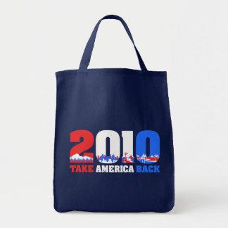 Take America Back 2010 Tote Bag