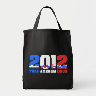 Take America Back 2012 Canvas Bag