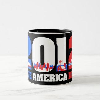 Take America Back 2012 Coffee Mugs