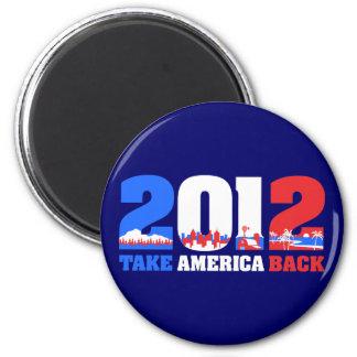 Take America Back 2012 Magnets