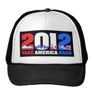 Take America Back 2012 Mesh Hats