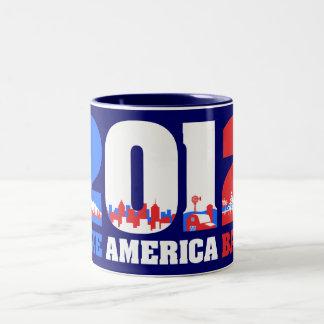 Take America Back 2012 Mugs