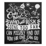 Take an Adventure Typography Chalkboard Poster