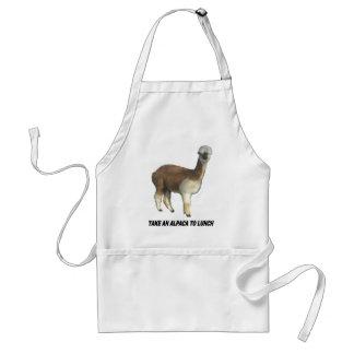 Take an alpaca to lunch standard apron