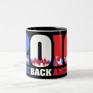 Take Back America 2010 Two-Tone Mug