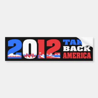 Take Back America 2012 Bumper Stickers