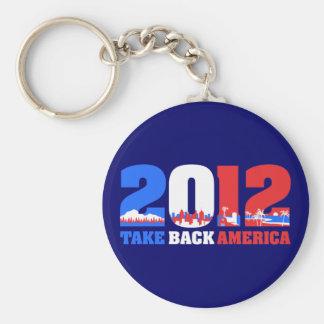 Take Back America 2012 Keychain
