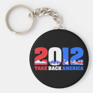 Take Back America 2012 Keychains