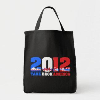 Take Back America 2012 Tote Bag