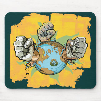 Take Back Our Planet Earth Day Gear Mouse Pad
