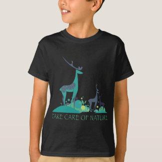 take care OF nature deers T-Shirt
