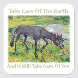 Take Care Of The Earth Iown Sticker