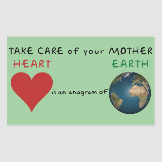 Take care of your mother stickers