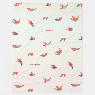 Take Flight - Large Fleece Blanket