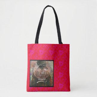 Take Heart Custom All-Over-Print Tote Bag