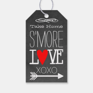 Take Home S'more Love Chalkboard Guest Favor