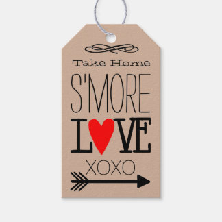 Take Home S'more Love Kraft Guest Favor