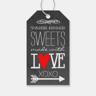 Take Home Sweets Chalkboard Guest Favor