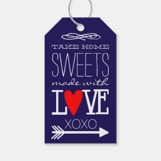 Take Home Sweets Guest Favor in Navy Blue