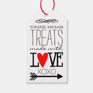 Take Home Treats Made With Love Guest Favor