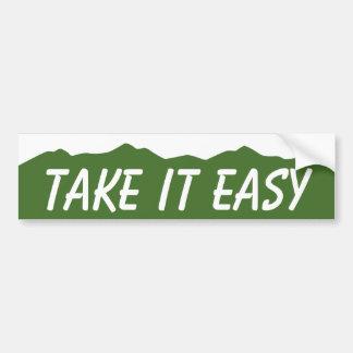 Take it Easy Colorado Bumper Stickers