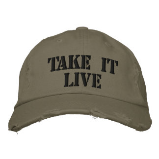 Take it Live Embroidered Hat