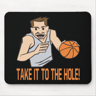 Take It To The Hole Mouse Pad