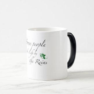 Take Life by the Reins Magic Mug