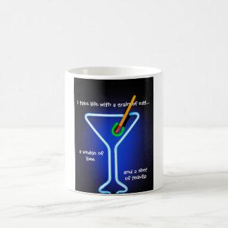 Take Life with a Grain of Salt Coffee Mug