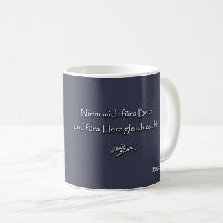 Take me for the bed coffee mug